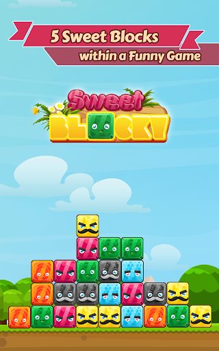Sweet Block: move the box