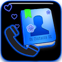 GO Contact EX Neon Heart theme icon