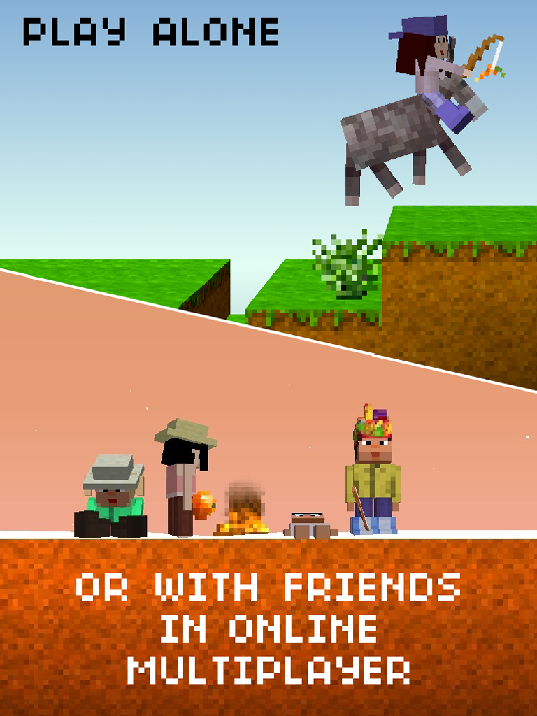 The Blockheads screenshot #2