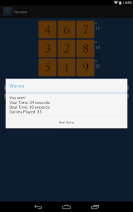 Novem: A Number Puzzle Game- screenshot thumbnail
