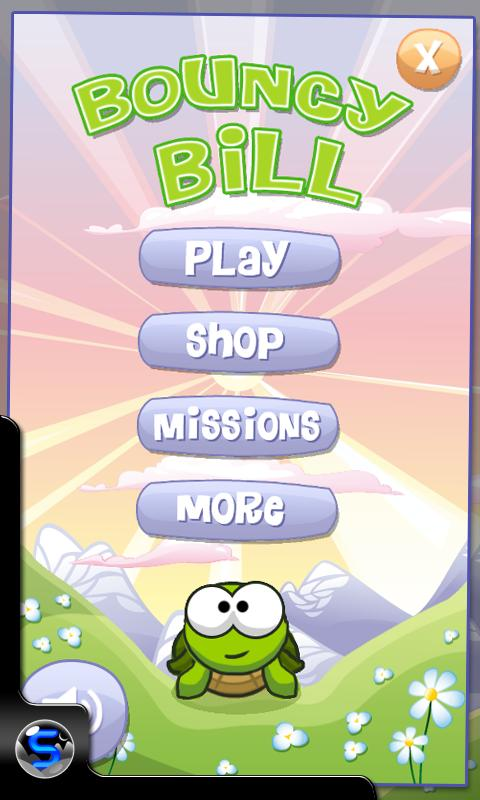 Bouncy Bill- screenshot
