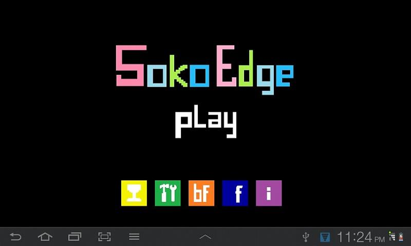 SokoEdge - Sokoban style game - screenshot