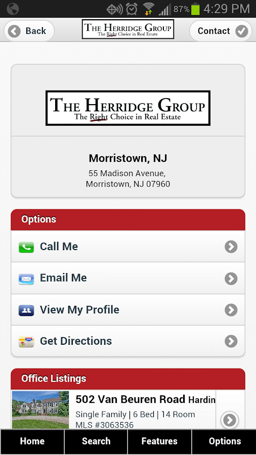 The Herridge Group - screenshot