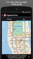 Screenshot of New York MTA Subway Map (NYC)