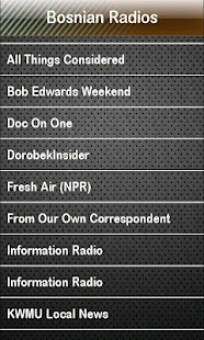 Bosnian Radio Bosnian Radios- screenshot thumbnail