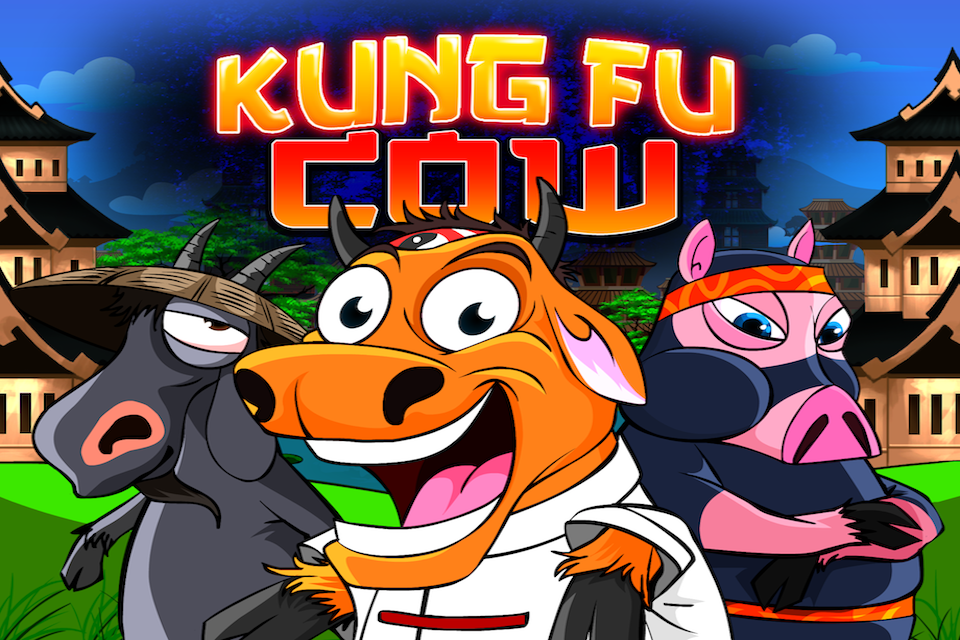 Kung Fu Cow - Free Ninja Game - screenshot