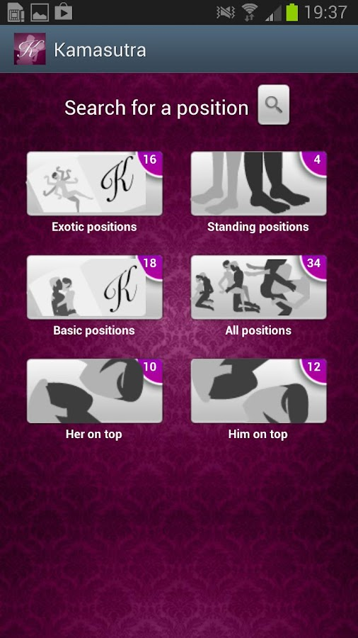 Kamasutra Sex Positions - screenshot