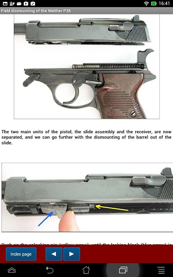 Walther P38 explained- screenshot
