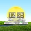 BIG 14-days Weather & Clock icon