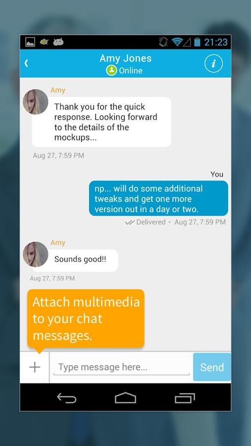 MangoApps - screenshot