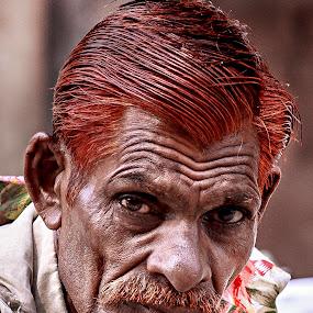 Indian by Svetlin Ivanov - People Portraits of Men ( landmark, slum, street, agra, india, picsvet, dharamshala, people, amritsar, photo )