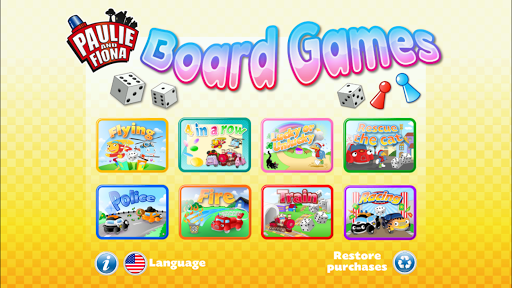 Paulie and Fiona Board Games L