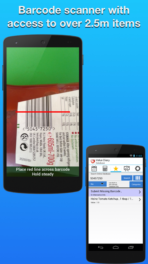 Value Diary Plus Wt Watchers - screenshot