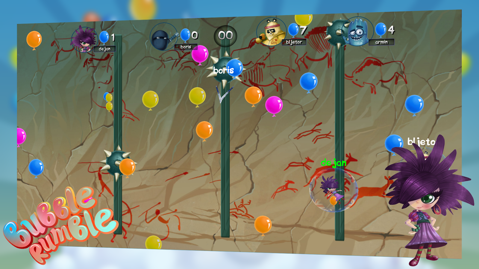 Bubble Rumble- screenshot