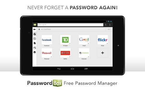 PasswordBox Free Password Safe - screenshot thumbnail