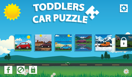 Toddler Car Puzzles