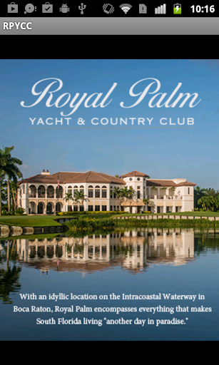 Royal Palm Yacht CC