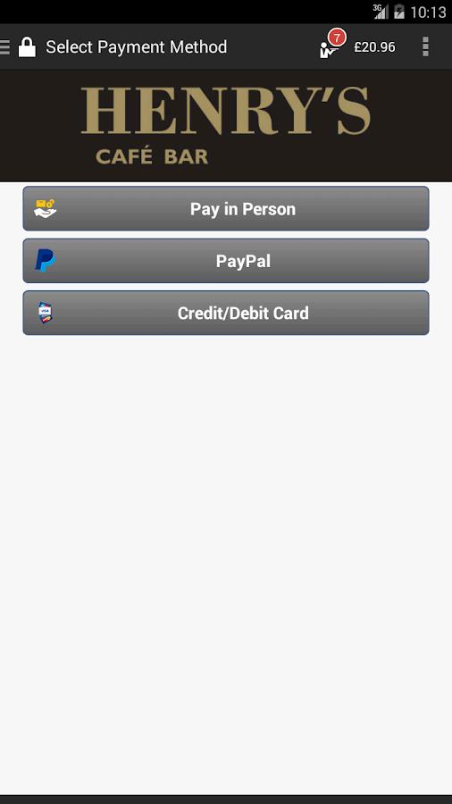 QikServe- screenshot