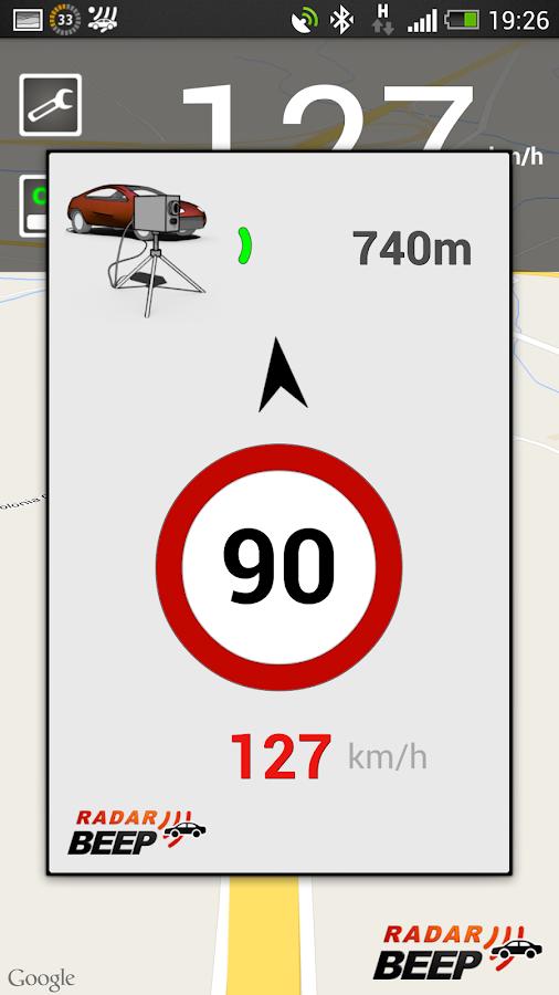 Radar Beep Avisador de Radares - screenshot