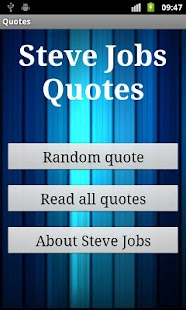 Steve Jobs Quotes - screenshot thumbnail