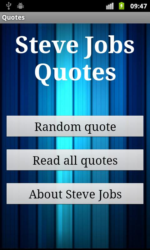 Steve Jobs Quotes - screenshot