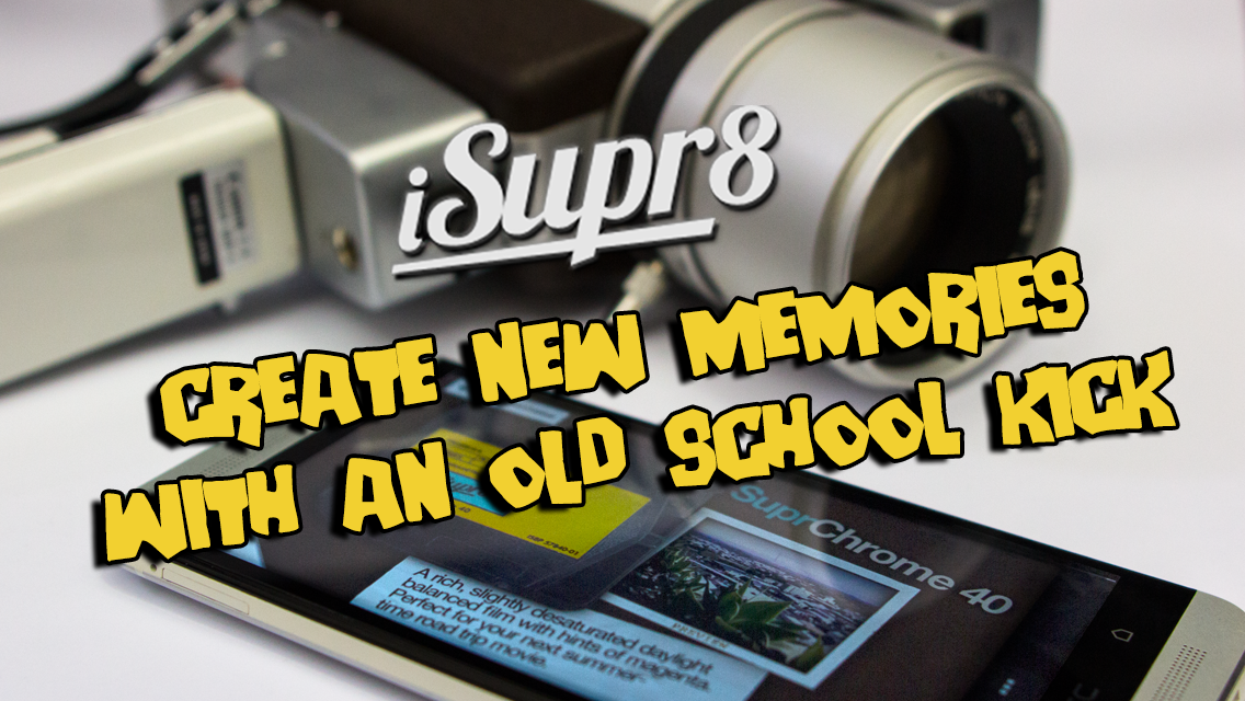 iSupr8 Vintage Video Camera - screenshot