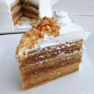Peanut Butter-Banana Cake