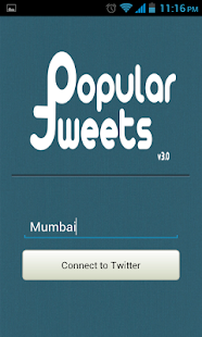 Popular Tweets - screenshot thumbnail