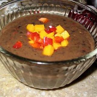 Calypso Black Bean Soup.