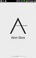Screenshot of Atom Store