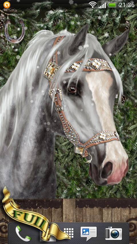 Arabian Horse Free Wallpaper - screenshot