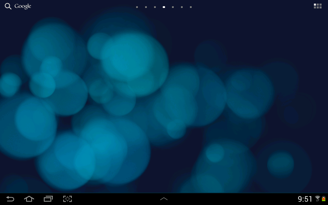 Light Drops Pro Live Wallpaper- screenshot