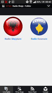 Albanian Live Radio - Lite screenshot 0