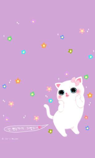 【免費娛樂App】CUKI Theme Cute Cat paper-APP點子