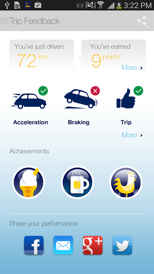 SmartDriver- screenshot