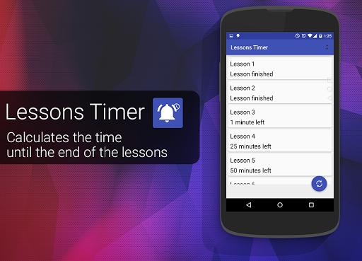 Lessons Timer