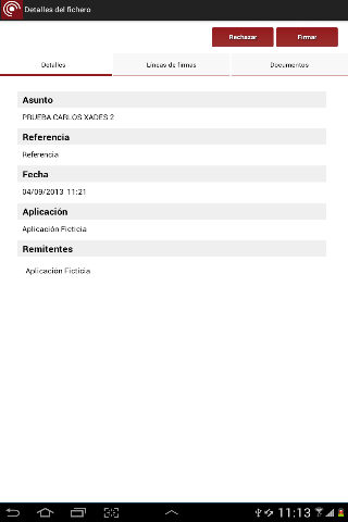 Port@firmas movil- screenshot