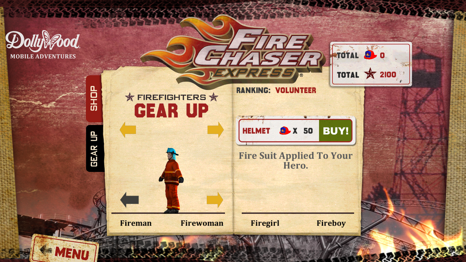 FireChaser Express - screenshot