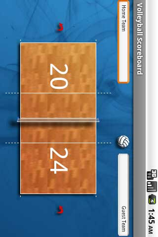 Volleyball Scoreboard Free- screenshot