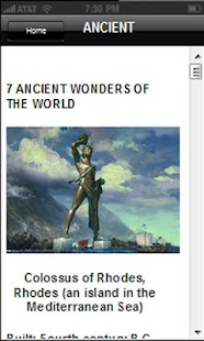 7 WONDERS OF THE WORLD* - screenshot thumbnail