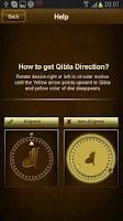 Screenshot of Qibla Compass