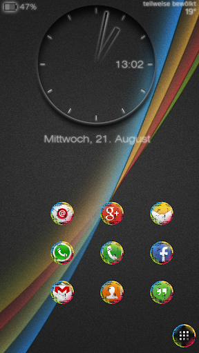 The Droid Effect icon theme 2