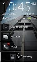 Screenshot of Dark Pro GO Locker Theme