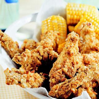 Crunchy Chicken Fingers.
