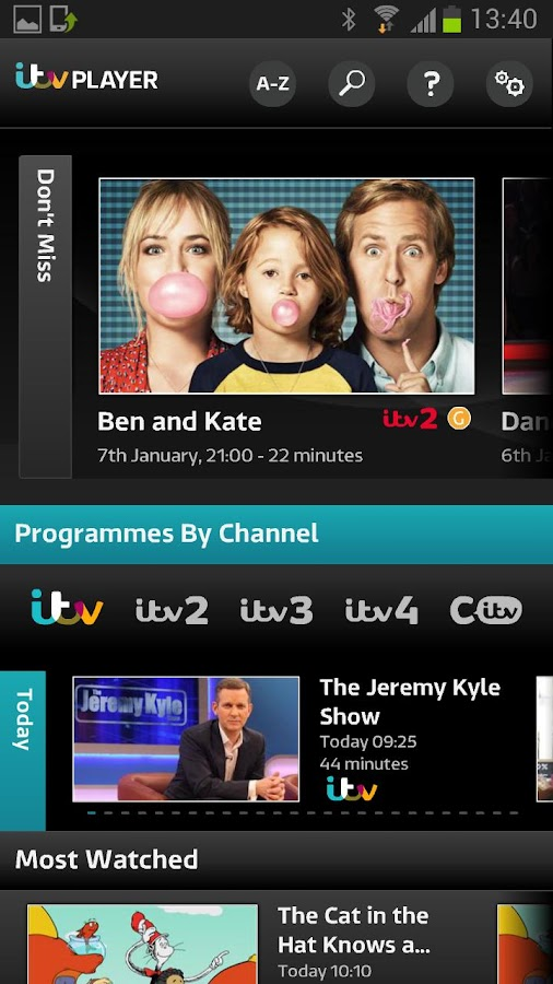 ITV Player - screenshot
