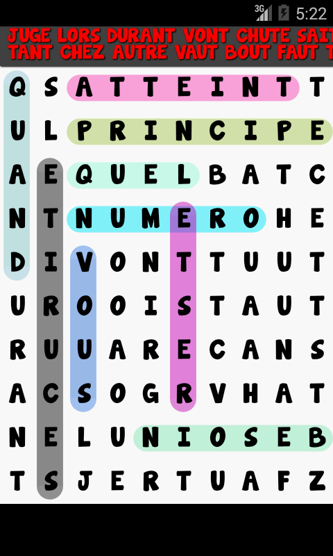 Word Search multilingual- screenshot