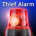 Thief alarm icon