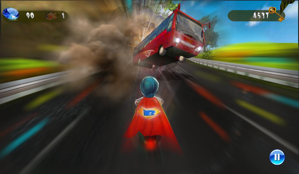 Speed Moto:Fast Ride 3D - screenshot