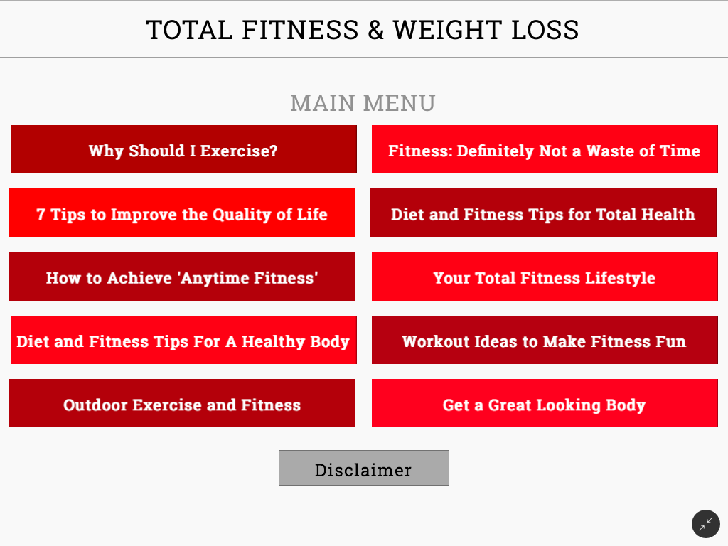 Intertron physical therapy - Total Fitness And Weight Loss Screenshot