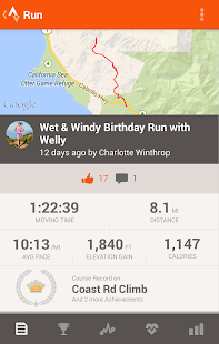 Strava Running and Cycling GPS Screenshot 7